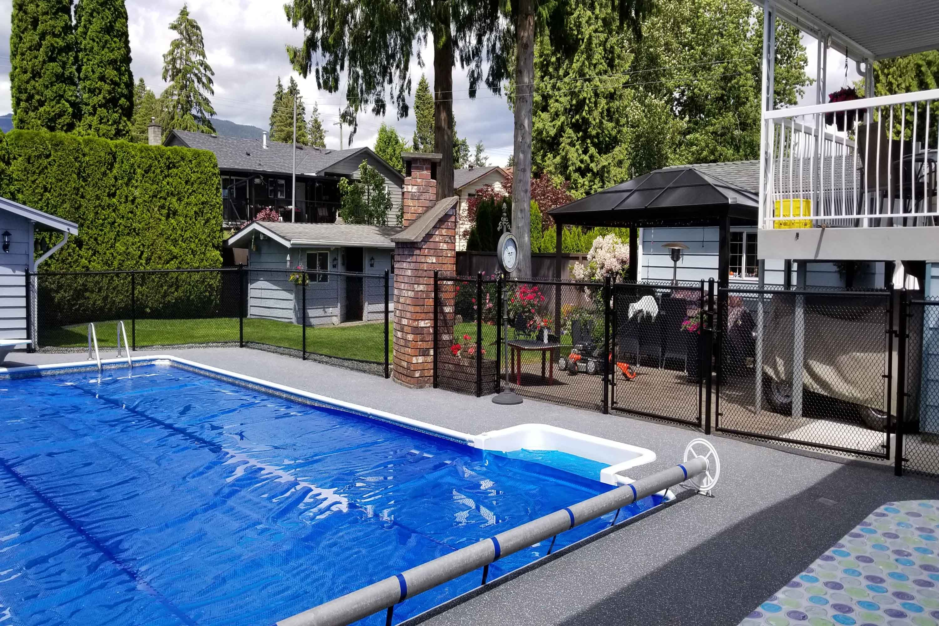 Tennis Court and Pool fences
